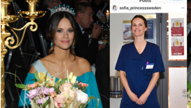 Photo of Corona: Swedish Princess Cleans and Cooks at Hospital