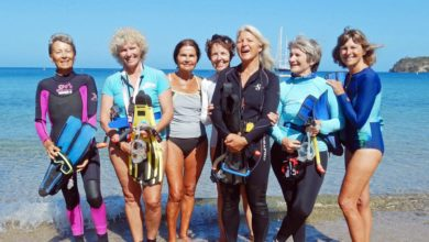 Photo of Seven Grandmas Swim with Venomous Sea Snakes – for the Sake of Science!