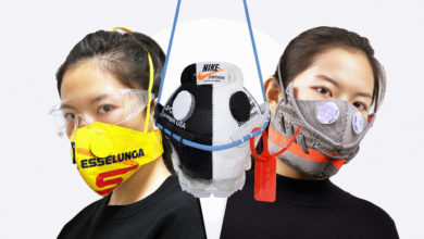 Photo of Designer Sells Masks Made out of Sneakers – for $5000 Dollars. Now You Can Make Them for Free