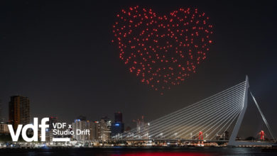 "Photo of ""Beating Heart"" in the Sky Honors Healthcare Workers"