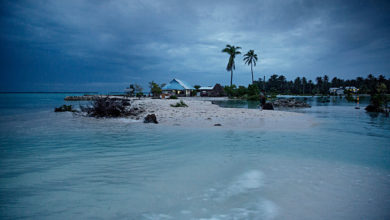 Photo of New Study: Rising Seas May Not Drown Away Small Islands, After All