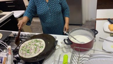 Photo of Distanced Dosa Party Brings Neighbors Together