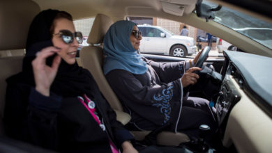 "Photo of ""We Now Have a Voice,"" Say Saudi Women Drivers"