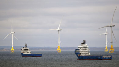 Photo of Wind Turbines Can Now Float on Water, and are  More Powerful Than Ever