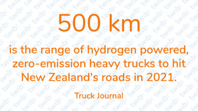 Photo of 500 km is the range of hydrogen-powered, zero-emission heavy trucks to hit New Zealand's roads in 2021.