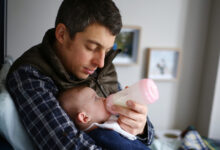 Photo of French Daddies Happy: Law Allows Them Double the Time With New Baby at Home