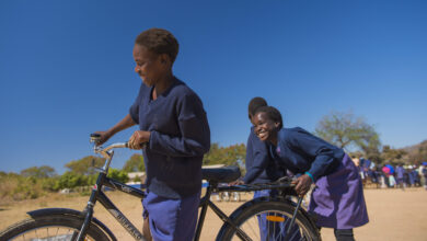 Photo of Bikes From Twibber Change Lives of These Girls